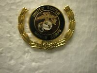 USMC HAT PIN -  UNITED STATES MARINE CORPS IN WREATH