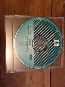vintage Ridge Racer Promo Disk Namco Collectors Item Can't Be Brought Anywhere