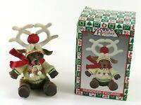 Vintage Holiday Collection Reindeer Resin Figurine Christmas Decor, China