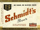 Schmidt's Beer NEW Metal Sign: Detroit, Michigan - E & B Brewing Company