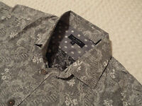 """TED BAKER Mens Shirt 🌍 Size 2 (36"""" CHEST) 🌎 RRP £110+ 📮 FANTASTICALLY FLORAL"""
