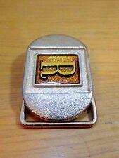 """Vintage Gold Letter """"R"""" Lee Jeans Belt Buckle"""