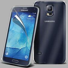 100% Transparente Gel Tpu Funda Protectora Para Samsung Galaxy S4 Neo Y Protector De Pantalla