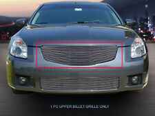 Fits 2007-2008 Nissan Maxima Billet Grille Front Upper Grill