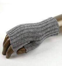 Bottega Veneta Men's/Unisex Light Gray Cashmere Fingerless Gloves M 389583 8531