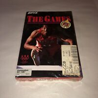 Epyx THE GAMES Summer Edition Commodore 64 128 BRAND NEW Sealed Disk C-64 C-128