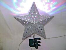 Sliver Glitter Multi-Color Night Light Star Clip On Party Bedroom Playroom Lamp