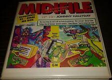 JOHNNY HALLYDAY INTROUVABLE COFFRET No19 DISQUETTE MUSICALE MIDIFILE +CADEAU