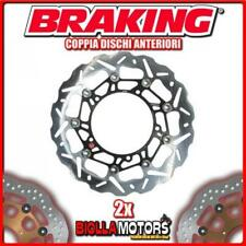 WK095L+WK095R 2x BRAKE DISC FRONT DX + SX BRAKING DUCATI STREETFIGHTER 1100cc 20