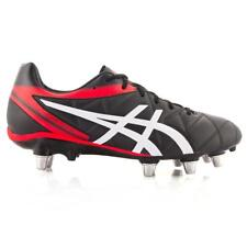 Asics Men's Lethal Scrum Rugby Boots Black Red Rugby RRP £100