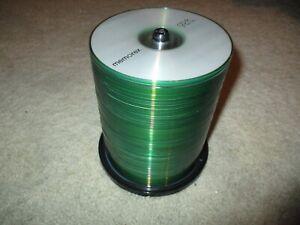 Memorex Cd-r 100 Pack 52x 700 Mb 80 Min New