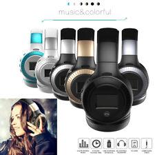 Foldable Wireless Bluetooth Headphone Headset Fm Radio Sd Card Earphone for Htc