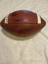 Clemson Tigers Game Used Football