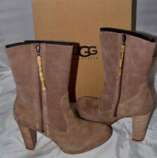 NIB Ladies UGG Australia ATHENA Caramel Fashion Boots - Size 9