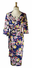 Cotton V-Neck Special Occasion 3/4 Sleeve Dresses for Women