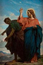 The Temptation of Christ by the Devil BARRIAS Christ devil Jesus B a3 01740