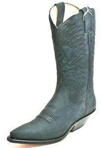 412 Westernstiefel Cowboystiefel Line Dance Catalan Style Texas Boots Vidal 38