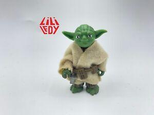 Star Wars Vintage Lili Ledy Yoda REGRESO w/Robe & Belt No COO Nice! See Pics