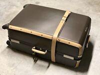 """Samsonite Black Label Hardside Trunk 32"""" Suitcase Spinner Super Rare"""