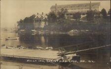 Christmas Cove ME Holly Inn c1920s Real Photo Postcard #14