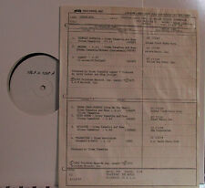Tempest (Soundtrack) Stomu Yamashta and Muse (John Cassavettes) (TEST Pressing)