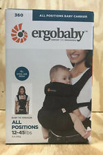 Ergobaby 360 All Carry Positions Ergonomic Baby Carrier Gingham Noir
