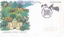 (13822) Australia Postal Stationery Fdc Taronga Zoo Bats 1994