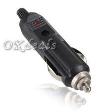 12V Coche Encendedor de Cigarrillos Mechero Conector Enchufe Plug Fusible /lll
