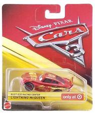 Cars 3 Metallic Rust Eze Racing Center Lightning Mcqueen 1:55 Target Exclusive