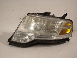 08 09 2008 2009 FORD TAURUS X DRIVER LEFT HEADLIGHT LAMP LENS ASSEMBLY 10746