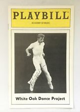 MIKHAIL BARYSHNIKOV White Oak Dance Project Signed Playbill and ticket