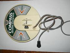 "Vintage Compass Metal Detector 8"" coil"