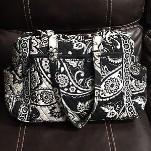 Vera Bradley Baby Diaper Bag - Retired Midnight Paisley Print