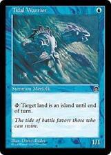 TIDAL WARRIOR Stronghold MTG Blue Creature — Merfolk Warrior Com
