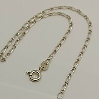"Solid Sterling Silver 925 bracelet chain 7""  design jewellery curb chain P59"