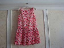 NWT Janie And Jack  Capri Pink Girls  Floral Chiffon Dress  12  Pink