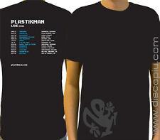 T-shirt 100% cotone PLASTIKMAN Live Tour black maglia NUOVA per DJ taglia L