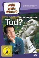 """WILLI WILLS WISSEN """"WIE IST DAS MIT DEM TOD"""" DVD NEU"""