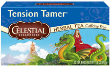 Tension tamer celestial seasonings herbal tea caffeine free(Expiry May 2020)