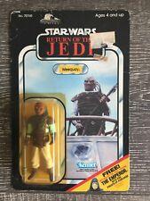 Star Wars Vintage 1983 Return Of The Jedi Weequay Skiff Guard New On Card