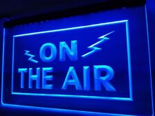 ON THE AIR Radio Recording Studio Music Room Light Sign Home Décor Crafts Gift