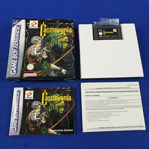 Gameboy Advance CASTLEVANIA *x *Boxed With Manual* GBA REGION FREE PAL Version