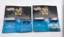 Lot of 2 Hot Wheels 1968-1988 20th Anniversary Special Collector's Edition