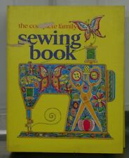 Vintage 1972 The Complete Family Sewing Book Hardbound Very Good Condition Retro