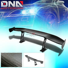 "NRG CARBON FIBER 69"" GT RACING BACK/TAIL SPOILER/WING+ADJUSTABLE STAND/BLACKET"