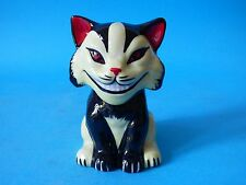 ULTRA RARE LORNA BAILEY STYLISED POTTERY GROUCH TEX MACK CAT 1 OFF FREE UK PP #1