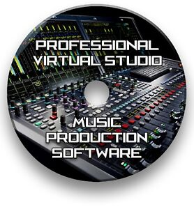 MULTI-TRACK MUSIC EDITING, MIXING, RECORDING VIRTUAL STUDIO PRODUCTION SOFTWARE