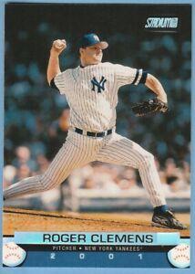 2001 Topps Stadium Club #143 Roger Clemens New York Yankees