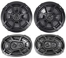 "2) KICKER 43CSC654 CSC65 6.5"" 600w Car Audio Speakers+2) 43CSC6934 900w Speakers"