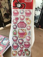 2012 Kawaii Hello Kitty Tea Cup Party Stickers SANRIO